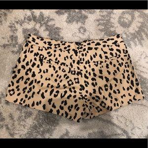Tibi Shorts - Tibi New York leopard shorts